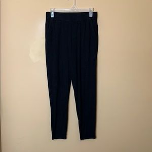Eileen Fisher black jogger pants